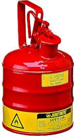 Justrite Mfg Company 0289892 1 Gal Red Type 1 Safety Can
