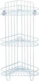 Homebasix 420869 3 Tier Shower Caddy White