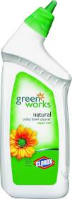 Clorox Co. 00451 GreenWorks Natural Toilet Bowl Cleaner 24 Oz