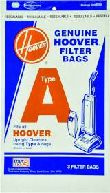 Hoover Co 0981191 Vacuum Cleaner Bag Type A