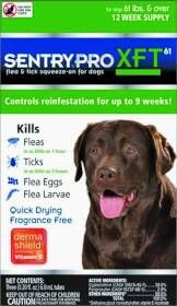 Sergeant's Pet 2912 Flea &tick Dog 60lb+ Sen Pro