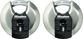 Master Lock M40XT 2-3/4 in Disc Padlock 2pk
