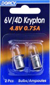 Dorcy International 411663 Krypton Replacement Bulbs