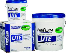 National Gypsum JT0107 Proform Lite Dust-Tech 1 Gal