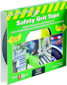 Incom Manufacturing RE141 Safety Grit Tape 1 in x60 ft Rl Bl