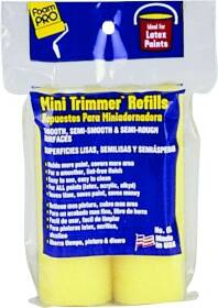 Foampro 65 4 in Mini Trimmer Refills