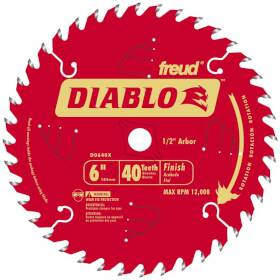 Freud D0640X 6 in X 40tht Finishing Blade