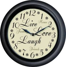 Westclox 32032 12 in Inspirational Wall Clock