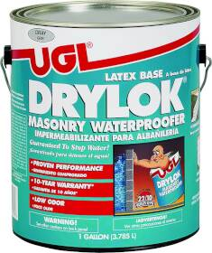 United Gilsonite Laboratories 27613 Latex Drylok Waterprfer Gray