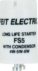 Feit Electric FS5/10 4-8w Fluor Starter With Condenser