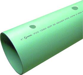 Genova 40051 4x10 Sdr-35 Perf Sewer Pipe