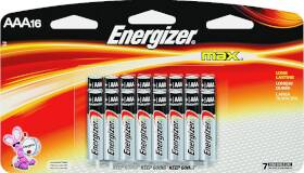 Energizer Battery E92LP-16 Aaa Alkaline Battery 16pk