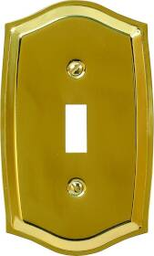 American Tack & Hardware 76TBR Toggle Plate P.brass