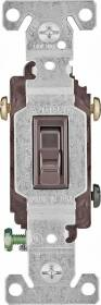 Cooper Wiring 1303-7B-BOX 3wy Brown Gnd Toggle Switch