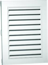 Canplas Inc 626120-00 22x28 in White Rect Gable Vent