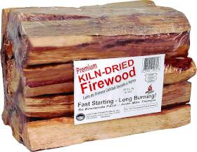 Lost Coast Forest Products 10275 Kiln Dried Firewood .75 Cu Ft Bdl