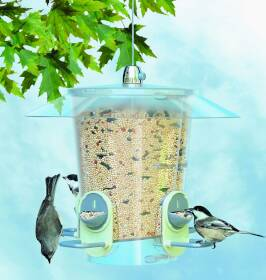 Woodstream 733 2 in 1 Port Metro Bird Feeder