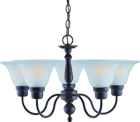 Boston Harbor A2239-6 5-Lite Chandelier Fixture Orb