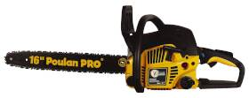Poulan PP3816A 16 in Chainsaw 2cycle 38cc