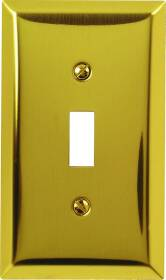 American Tack & Hardware 163TBR Toggle Plate Br. Brass