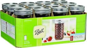 Jarden Home Brands 81400 12 oz Quilted Jelly Jars 12