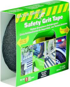 Incom Manufacturing RE142 Safety Grit Tape 2 in x60 ft Rl Bl