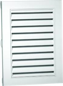 Canplas Inc 626080-00 18x24 in Rect Gable Vent