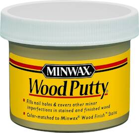 Minwax 13618000 3.75 oz Ebony Wood Putty