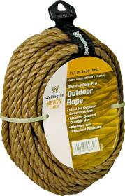Wellington-Cordage 25662 3/8 In Poly Rope 50 Ft Unmanila