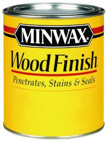 Minwax 22150000 1/2 Pt Red Oak Int Wood Stain