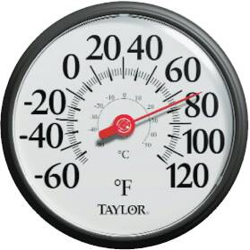Taylor Precision Products 6700 12 in Dial Thermometer