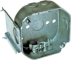 Raco 160 4 in Octagon Box With Bracket