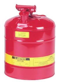 Justrite Mfg Company 7150100 Type I Steel Safety Can For Flammables 5 Gal