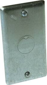Raco 861 1gang Utility Box Cover 1/2ko
