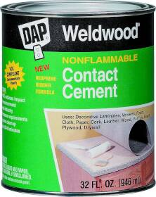 Dap 25332 Qt Tan Non-Flam Contact Cement