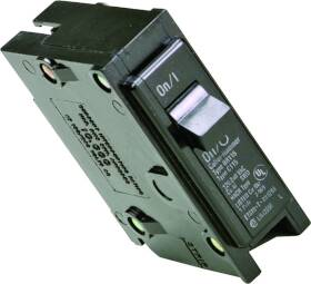 Cutler-Hammer BR115 15a 1p 1 in Plug-On Circuit Breaker