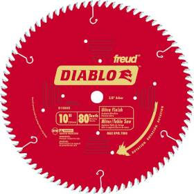 Freud D1080X 10 in 80tht Ultra Finish Blade