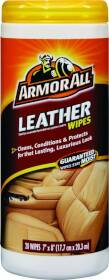 ArmorAll 10881-4 Leather Wipes 20ct