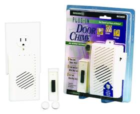 Thomas & Betts-Carlon RC3250 Dlx White Plugin Door Chime