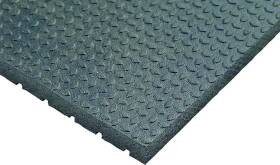 Quality Rubber Resource ASM4872-DR3/4 Rubberstall Mat 48x72x3/4
