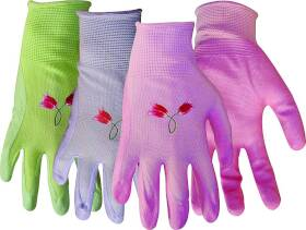 Boss Mfg Co 8429M Ladies Nitrile Knit With Nitrile Palm Glove Medium