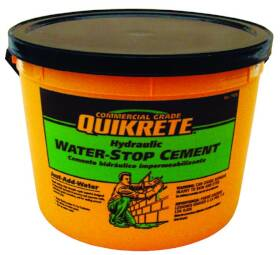 Quikrete 1126-11 Hydraulic Water Stop 10#