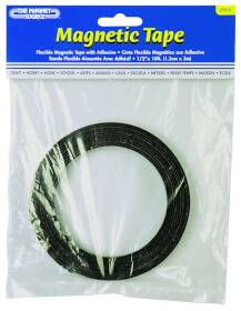 Master Magnetics 07012 1/2 In X 10 Ft Magnetic Flexible Tape