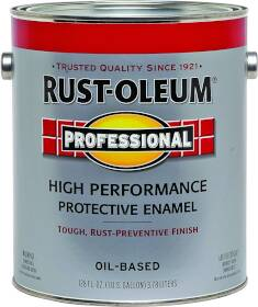 Rust-Oleum 7564402 Gal Safety Red Stop-Rust