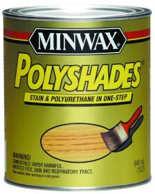 Minwax 61340444 Ant Walnut Satin Stain/Poly