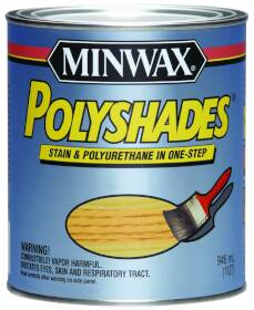 Minwax 61430444 Old Maple Gloss Stain/Polyshade
