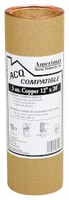 Amerimax 8506712 12 in x20 ft 3 oz Copper Flashing