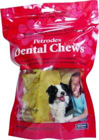 Sergeant's Pet 51263 Dog Dental Chews- Medium Dogs