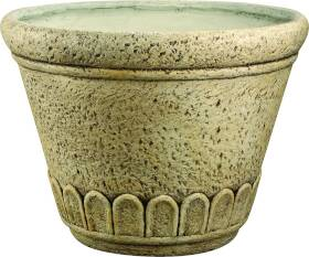 MintCraft PT-002 16 in Round Planter Weather Stone