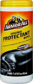 ArmorAll 10861-6 Original Protectant Wipes 25ct
